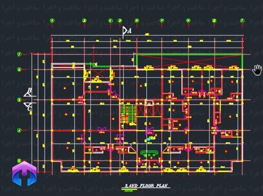 پلان معماری بیمارستان