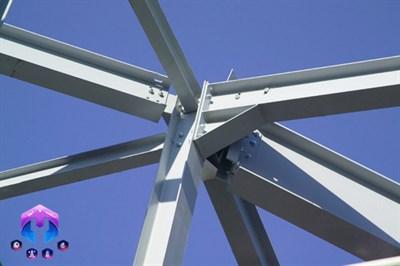 ستون در سازه های فولادی